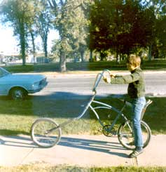 Dan Towle's 1970's bicycle chopper